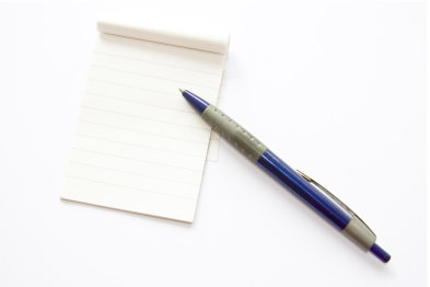 pen-and-notepad
