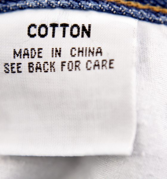 Cotton made in China