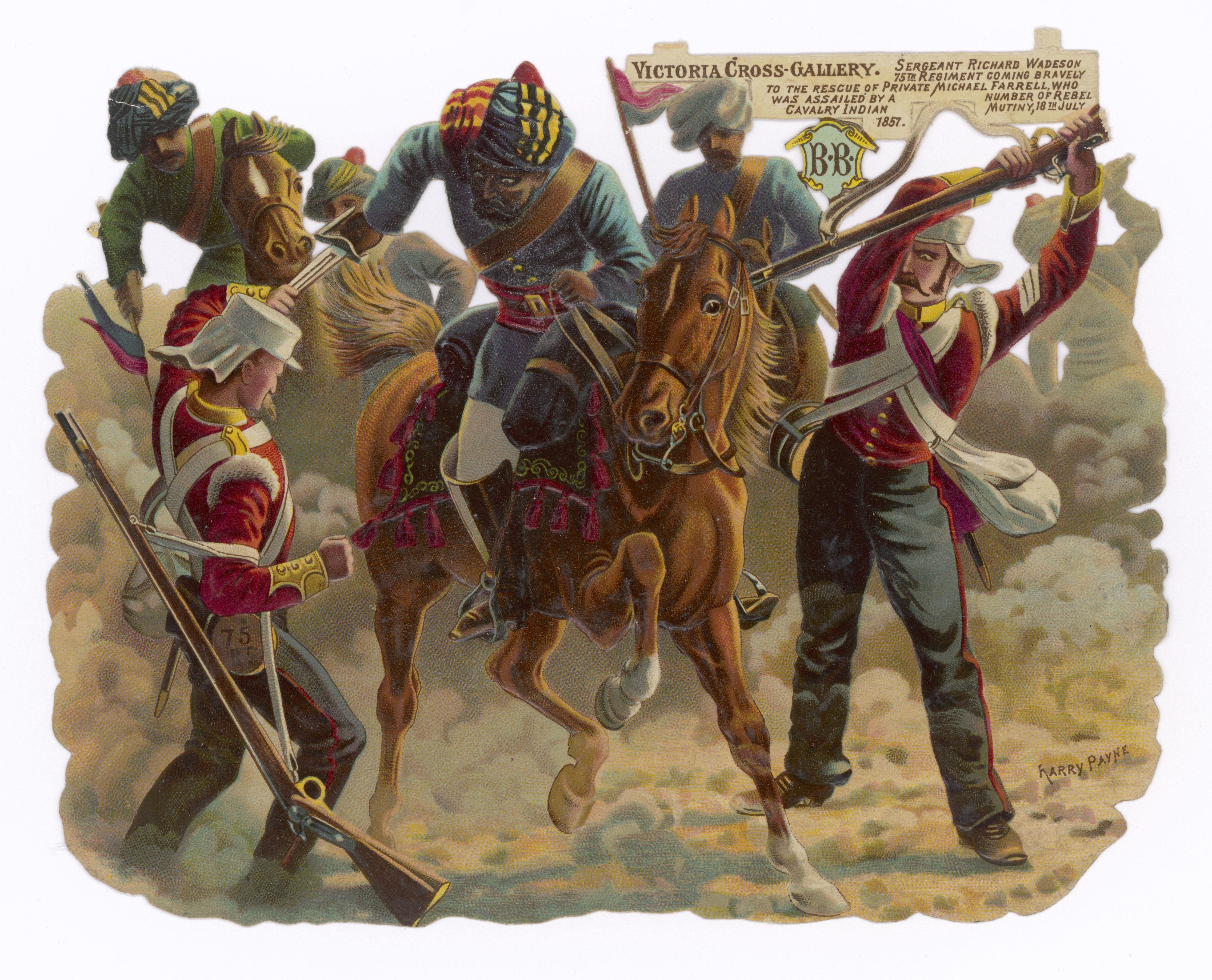 Sepoy rebellion, Shaykh Hamza