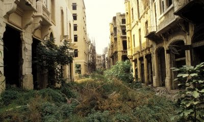 The Green Line, Beirut, 1990