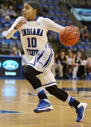 Bilqis Abdul-Qaadir was an all-conference point guard at Indiana State University.
