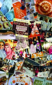 Charity week collage