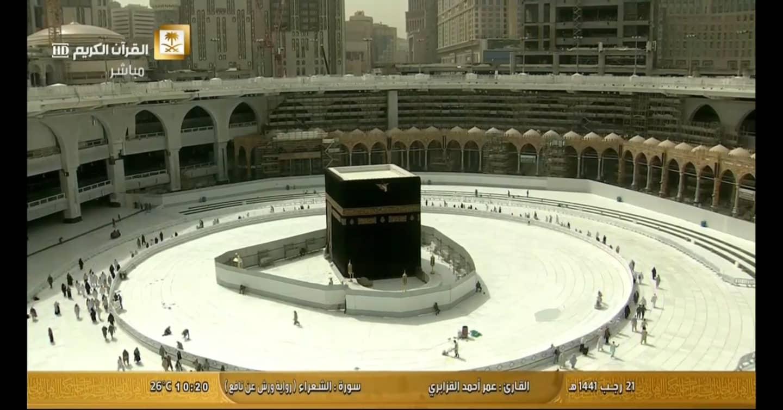 Empty Kaaba