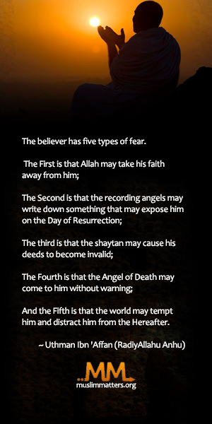 Five types of fear