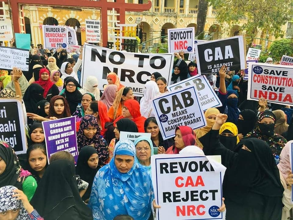 CAA Protest
