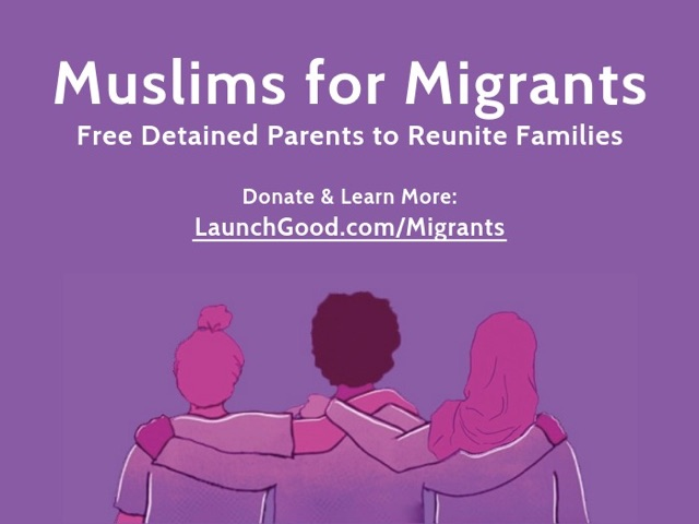 Launchgood.com/migrants, migrants, Muslims