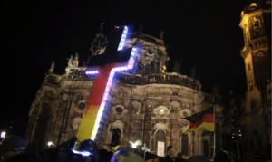 PEGIDA protest December 2014.[21]