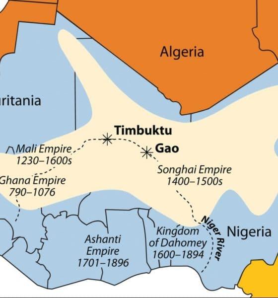 Map of the Ashanti Empre
