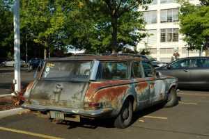 Old station wagon