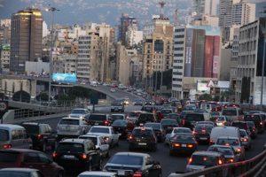 Beirut traffic