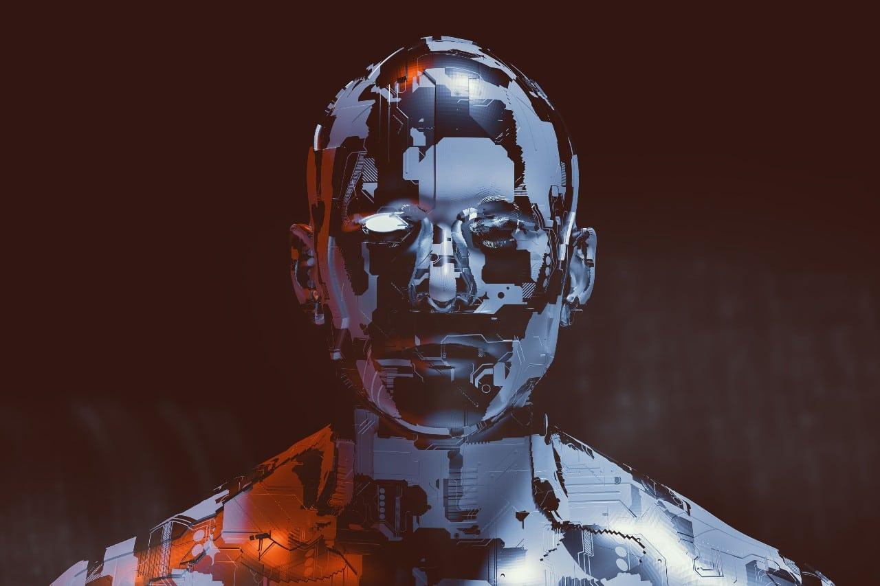 Humanoid robot face