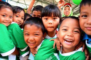 Indonesian children