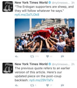 ny times tweet