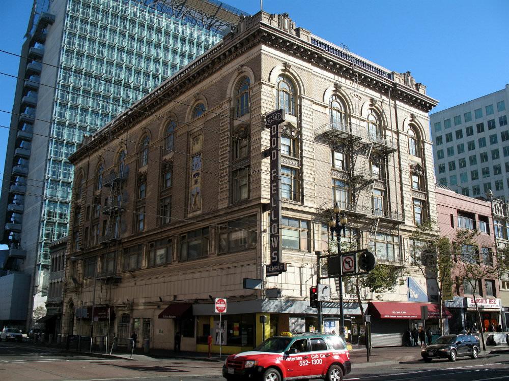 Odd Fellows Temple, San Francisco