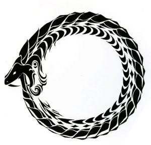 Ouroboros tattoo