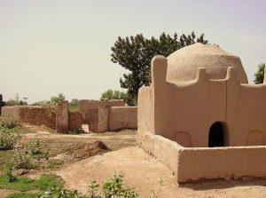 Simple village masjid in Punjab