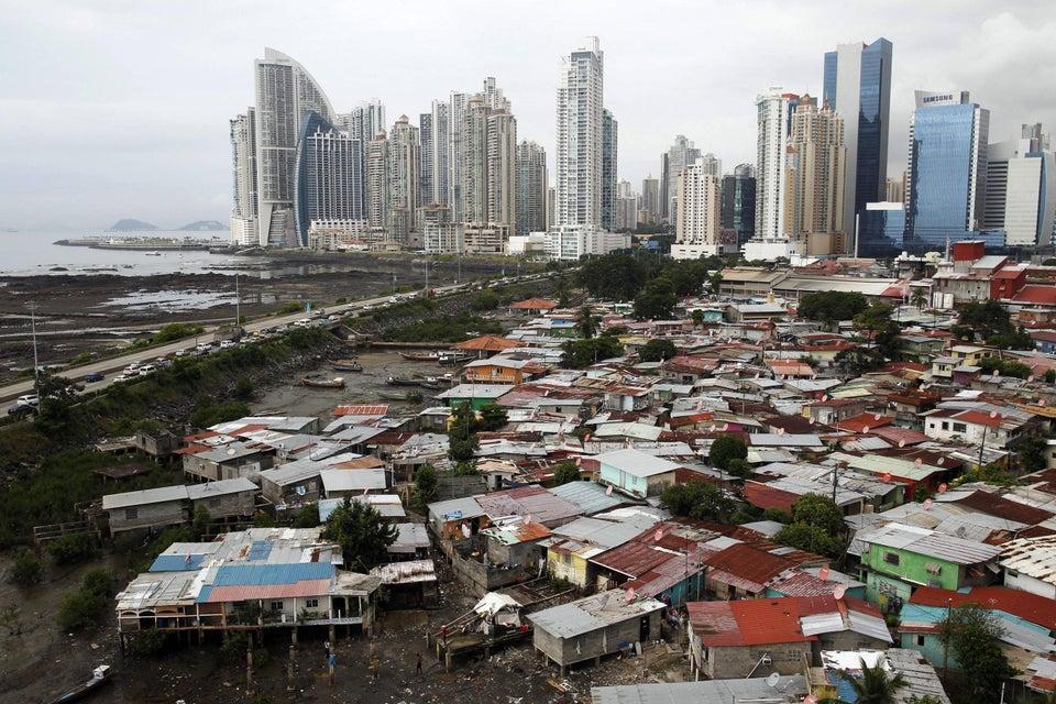Panama City slum, Panama