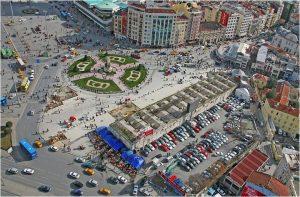 Teksim Square, Istanbul