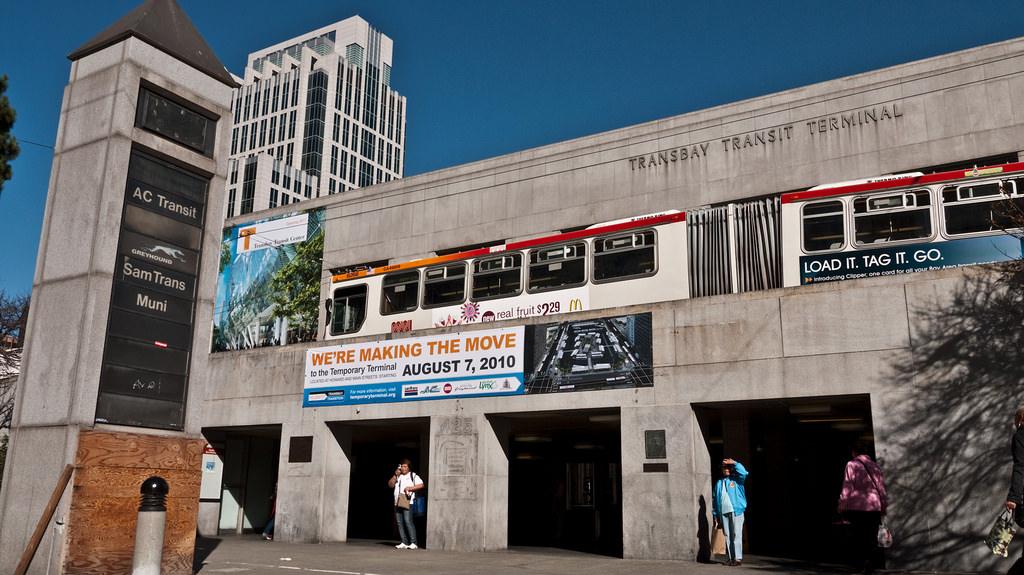 Transbay Terminal, San Francisco