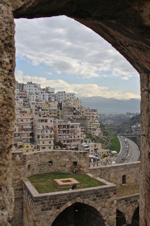 Tripoli, Lebanon, seen from the citadel