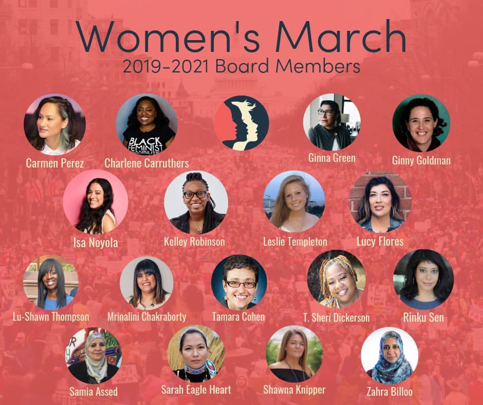 Women's March Board